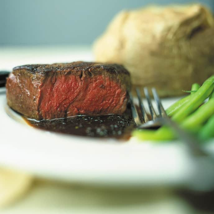 Pan-Seared Filet Mignon