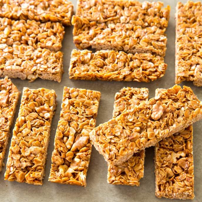 Crunchy Granola Bars