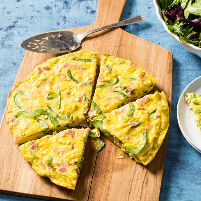 Ham and Jack Frittata