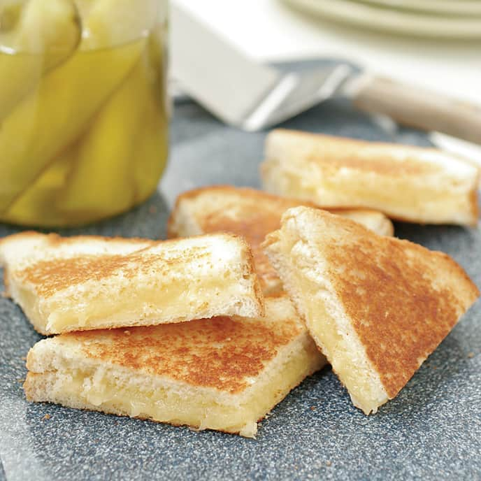 Oven Grilled Cheese Sandwiches for a Crowd