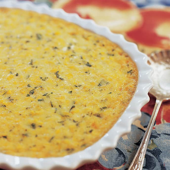 Savory Corn Pudding