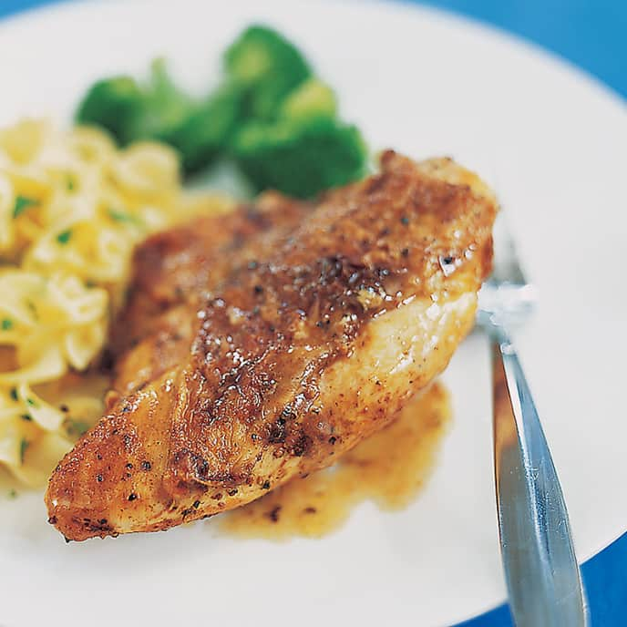 Broiled Paprika Chicken