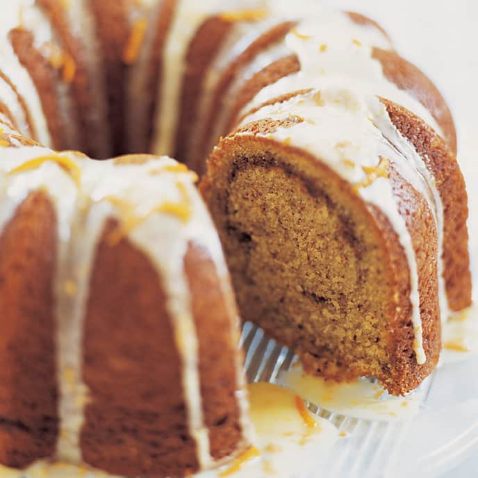 Pecan Sour Cream Coffee Cake