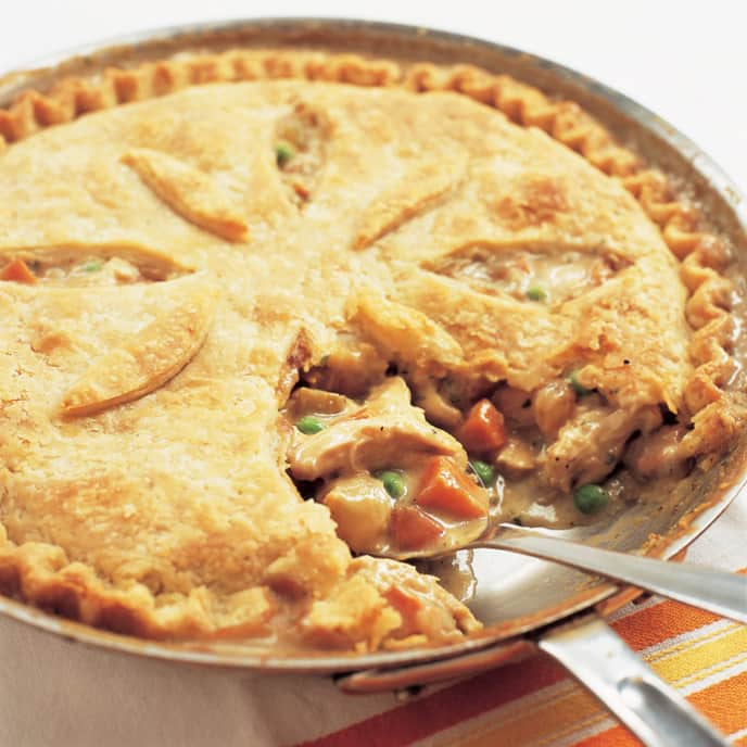 Skillet Chicken Pot Pie