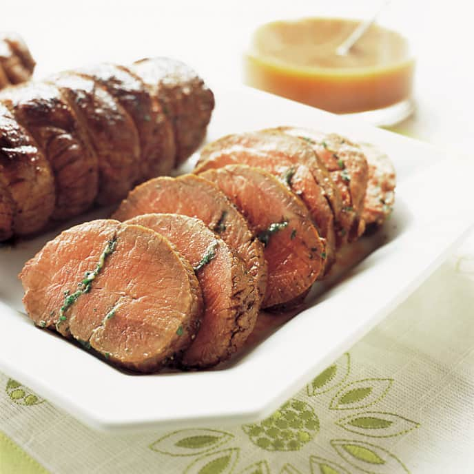 Garlic-Roasted Leg of Lamb