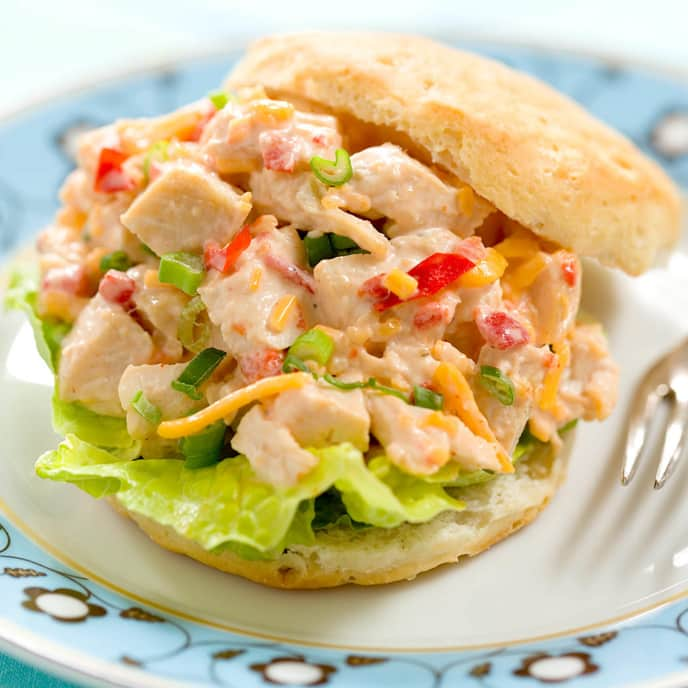 Chicken Salad with Asparagus and Sun-Dried Tomato Dressing