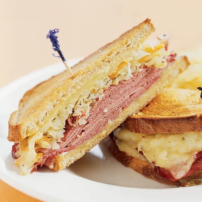 Oven-Grilled Reuben Sandwiches