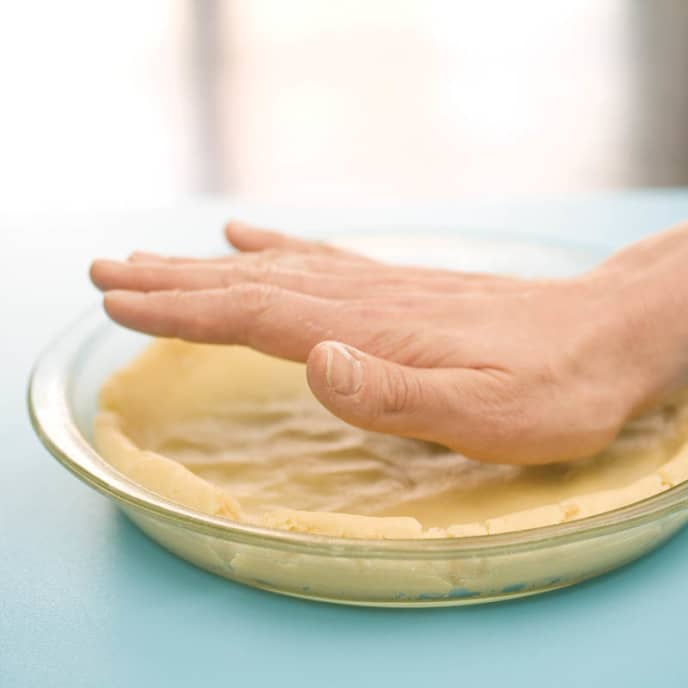Pat-in-the-Pan Pie Dough