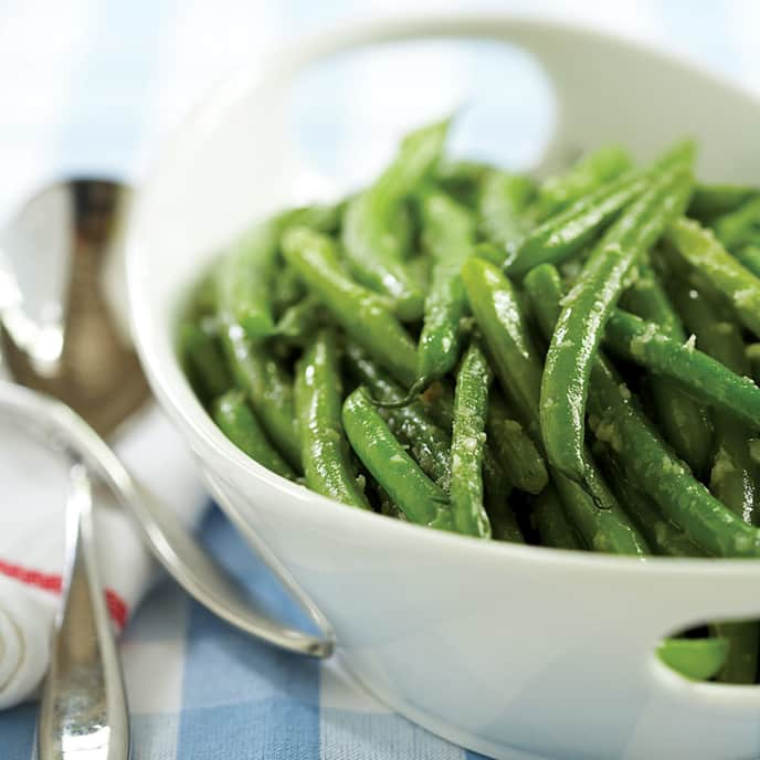 Make-Ahead Garlic Green Beans