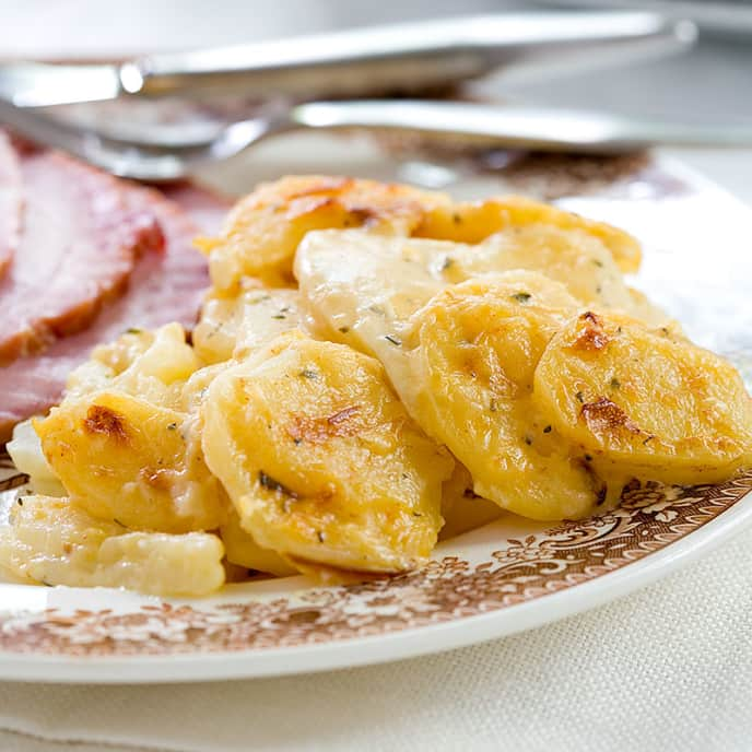 Smoky Scalloped Potatoes