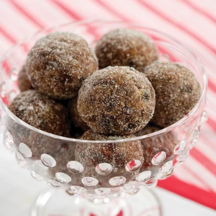 Crunchy Spiced Rum Balls