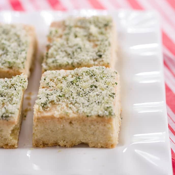 Mojito Shortbread
