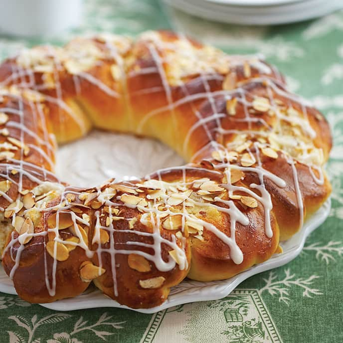 Almond Ring Coffee Cakes
