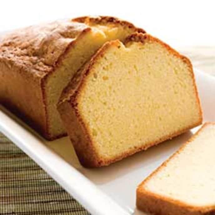 Pound Cake with Orange Essence