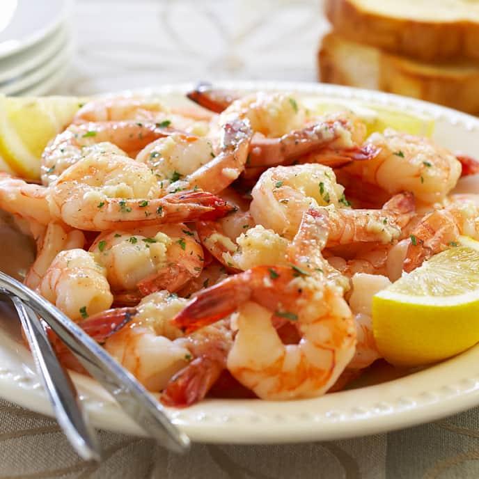 Family-Style Shrimp Scampi