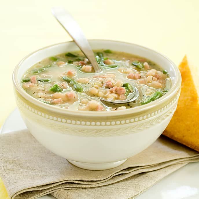 Southern Ham and Bean Soup
