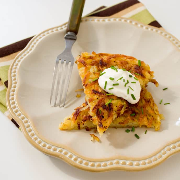 Family-Sized Potato Roesti