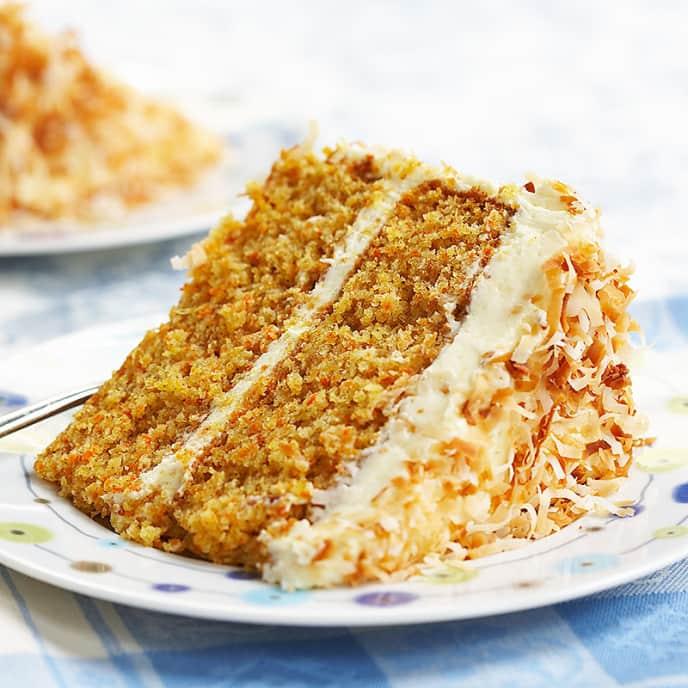 Tropical Carrot Cake