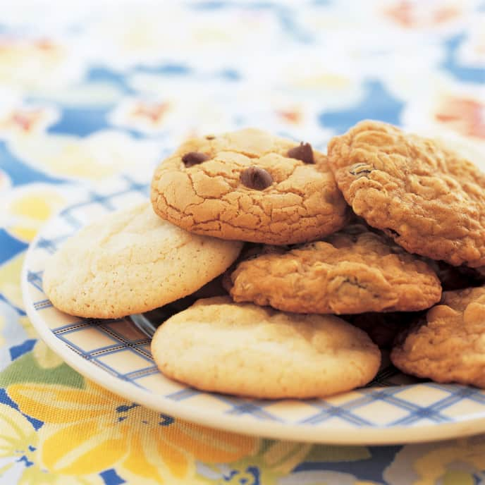 Light Peanut Butter Cookies