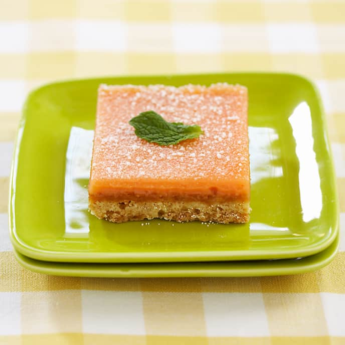 Texas Pink Grapefruit Bars