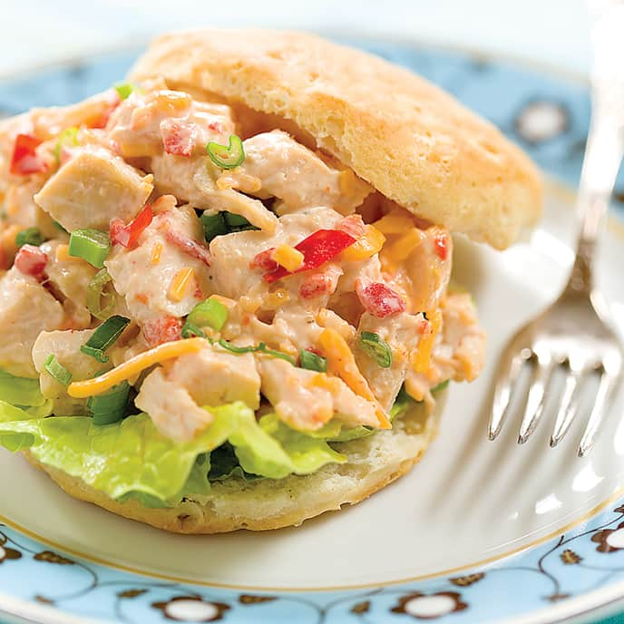 Carolina Pimento Cheese Chicken Salad