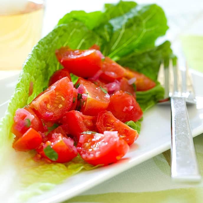 Cherry Tomato and Onion Salad
