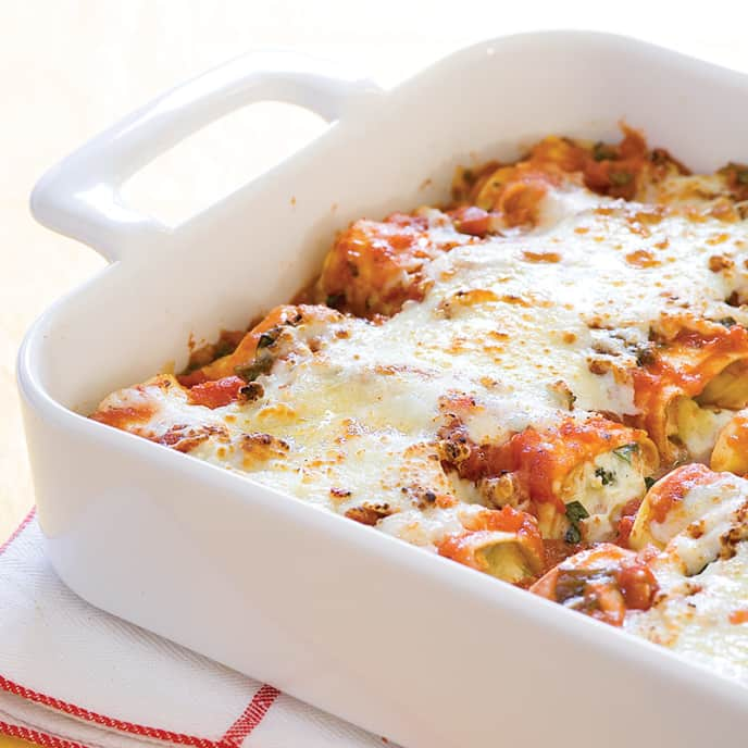 Weeknight Lasagna Roll-ups