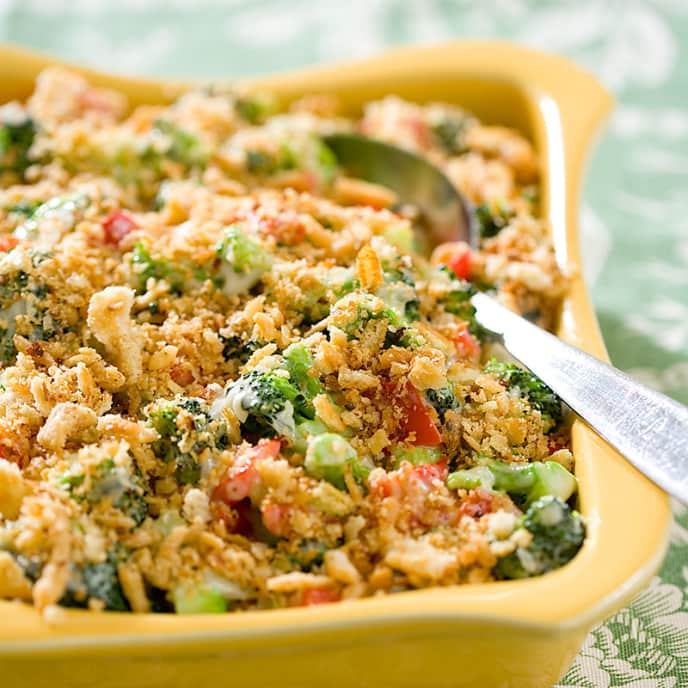 Stovetop Broccoli and Cheese Casserole