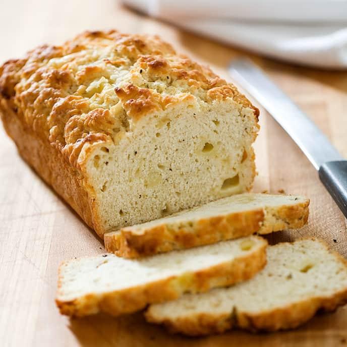 Beer-Batter Cheese Bread