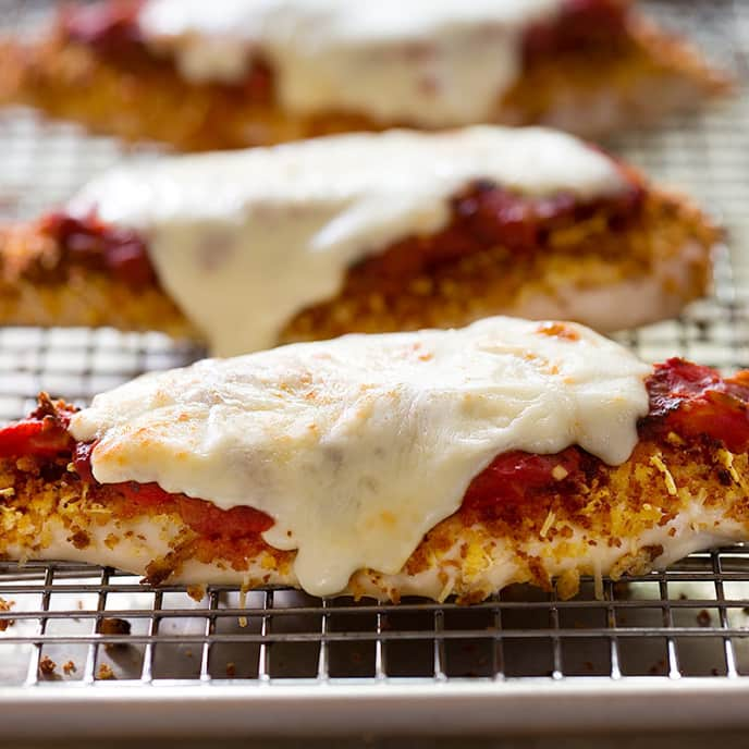 Low-Fat Chicken Parmesan