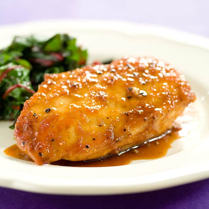 Maple-Ginger Glazed Chicken