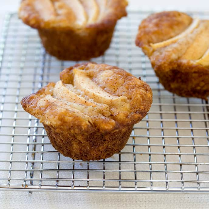 Grandma's Special Dutch Apple Cheese Muffins