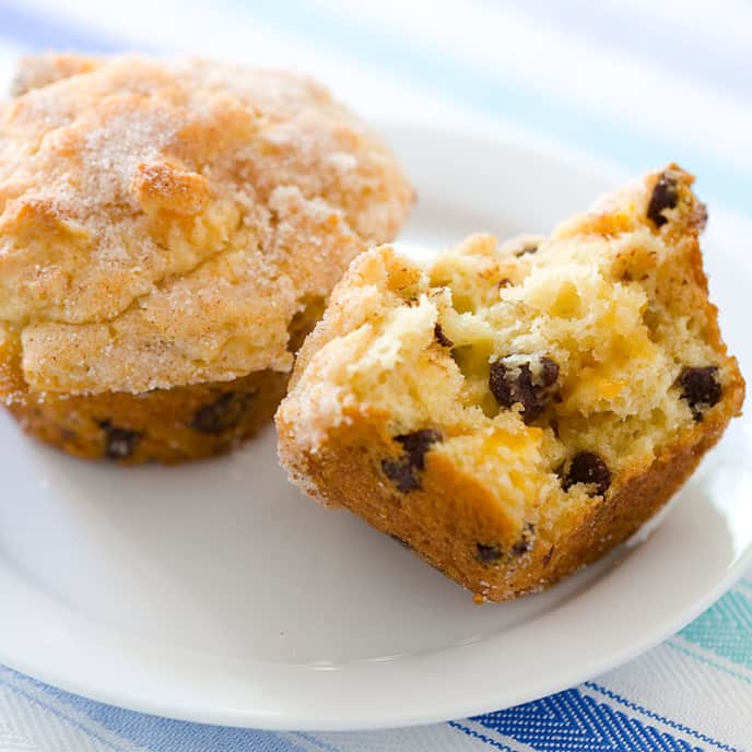 Choco-Apricot Muffins