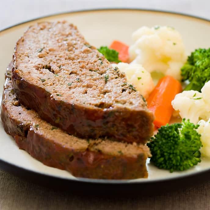Low-Fat Meatloaf