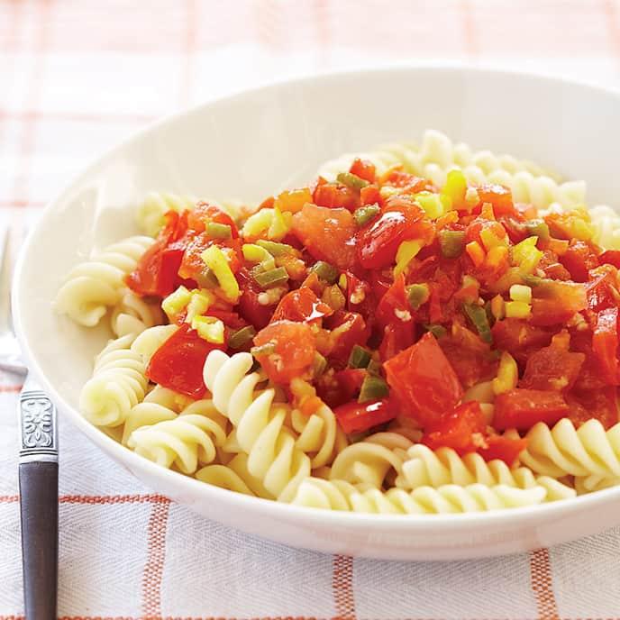 Triple-Chile Tomato Sauce
