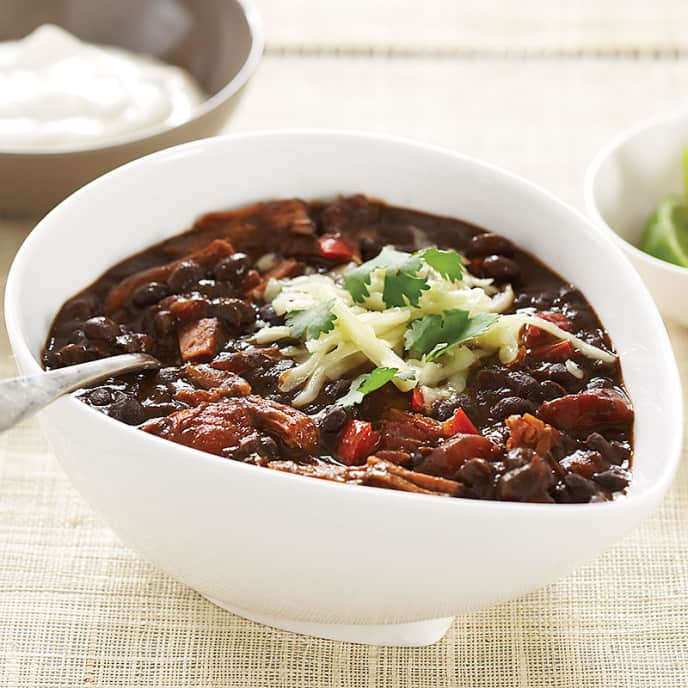 Slow-Cooker Black Bean Chili