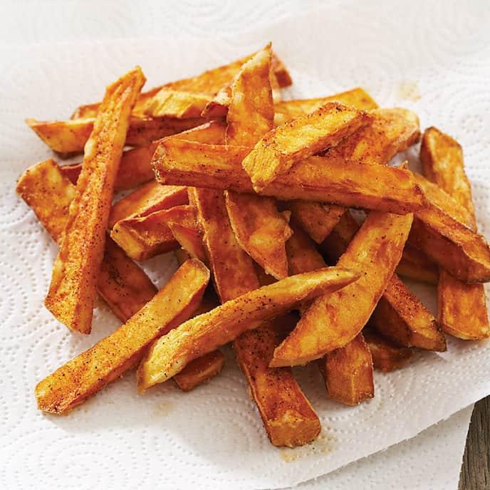 Crispy Sweet Potato Fries