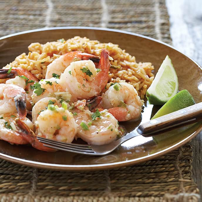 Mexican-Style Garlic Shrimp
