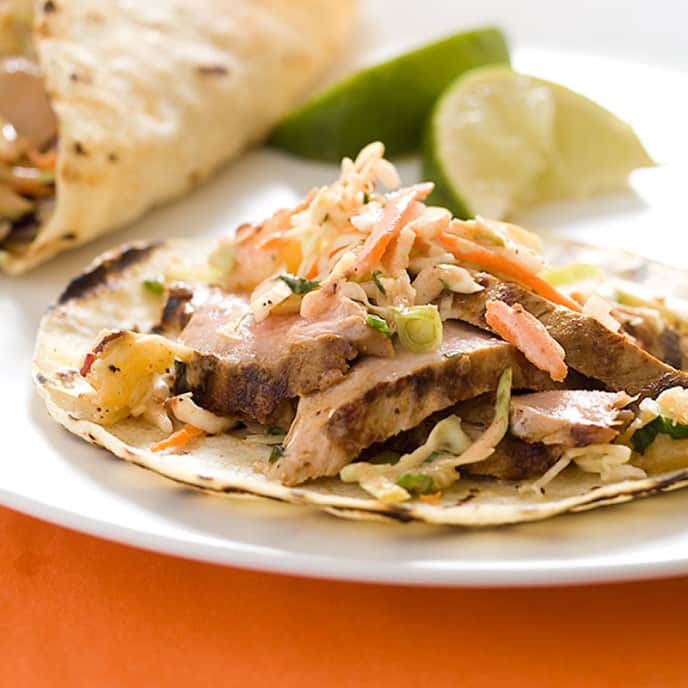 Chipotle-Grilled Pork Tacos