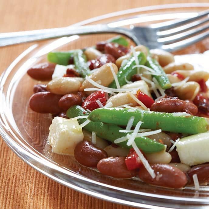 Caesar's Three-Bean Salad