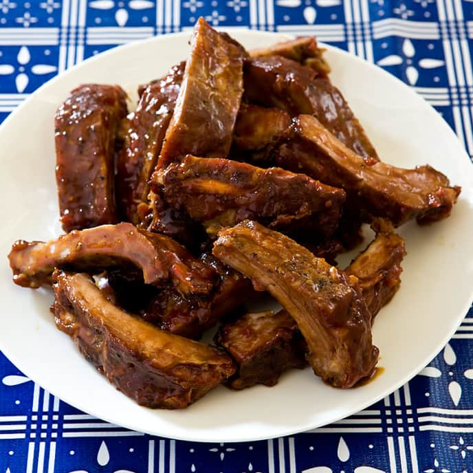 Slow-Cooker Sweet and Sour Ribs