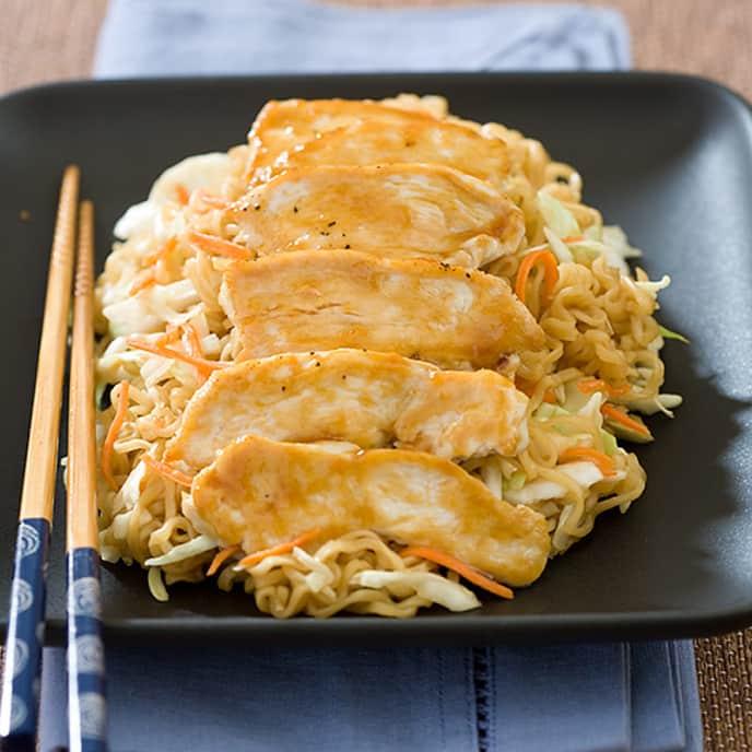 Teriyaki Chicken Lo Mein