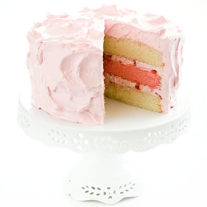 Pink Azalea Cake