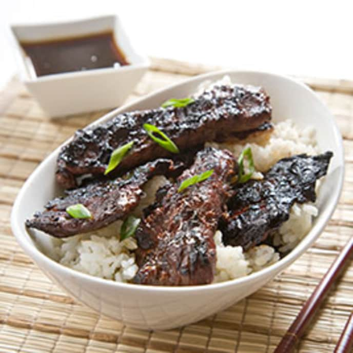 Gas-Grilled Beef Teriyaki