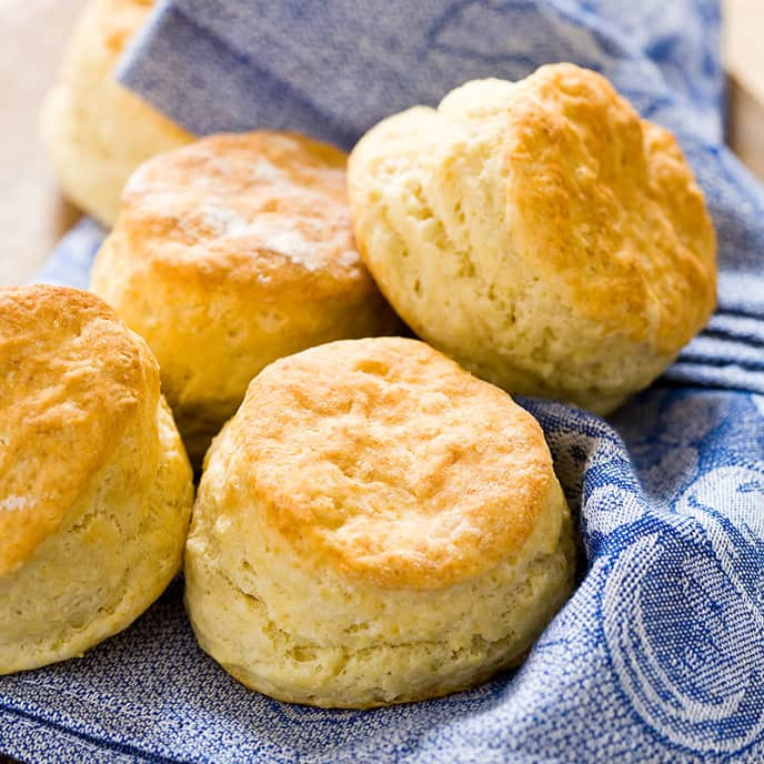 Reduced-Fat Buttermilk Biscuits