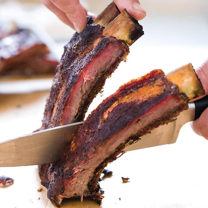 Texas Barbecued Beef Ribs
