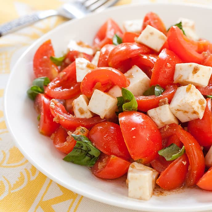 All-American Cherry Tomato Salad