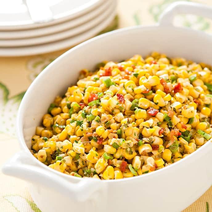 Creole Sauteed Corn
