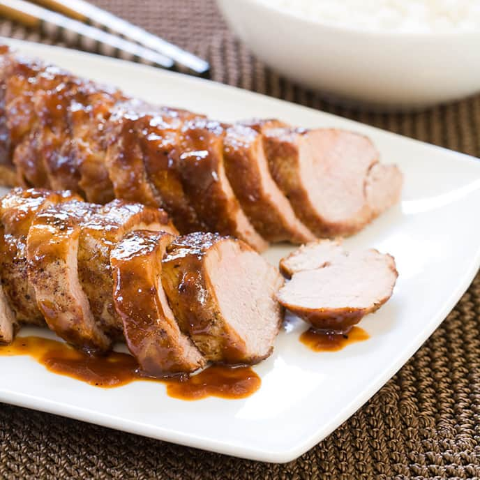 Skillet Pork Tenderloin with Hoisin Glaze