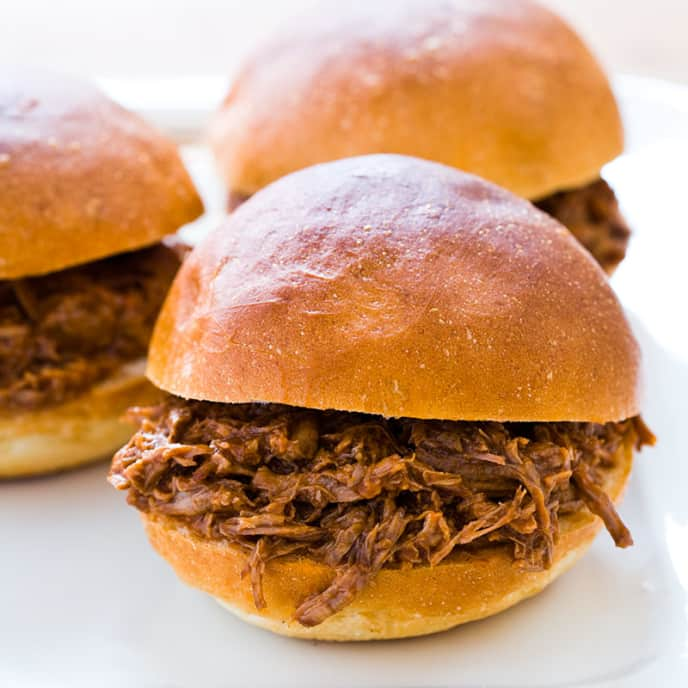 Grandma Wooly's Beef Barbecue